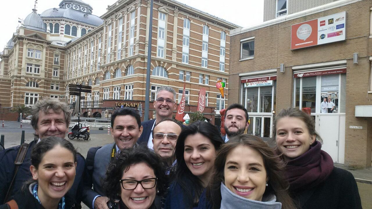 Colombian delegation studying waste management in the Netherlands October 2014